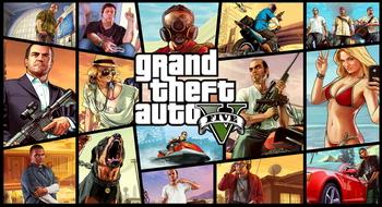 Новый экшен Grand Theft Auto V
